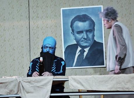 Za předsednickým stolem FOTO HANA SMEJKALOVÁ
