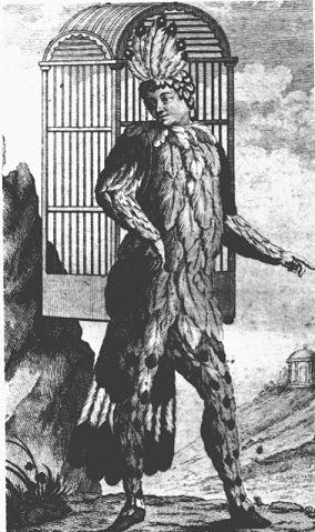 Schikaneder v roli Papagena. Repro archiv