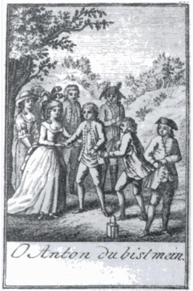 Herecká trupa Emanuela Schikanedera (1791). Repro archiv