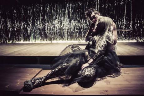 Magdalena Wabitsch a Lukas Gander v hlavních rolích Zkrocení zlé ženy. FOTO LUPI SPUMA