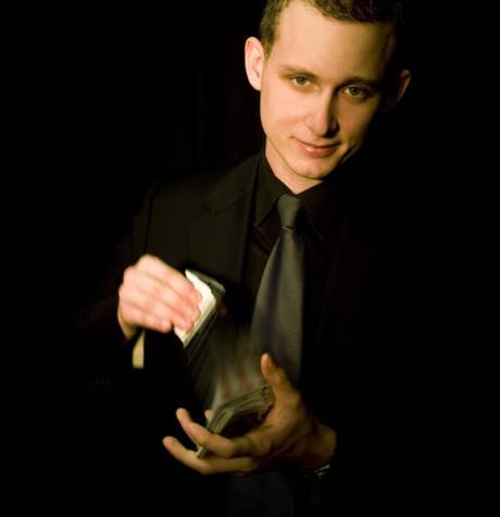 Opakovaně přijede jihoafrický kouzelník Stuart Lightbody. FOTO archiv Prague Fringe