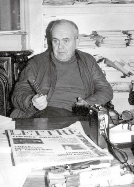 V redakci Lettre Internationale, prosinec 1989 FOTO archiv AJL