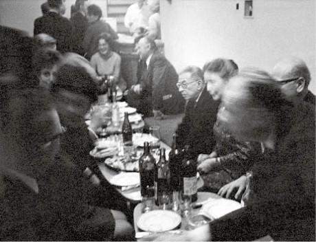 rancouzského filosofa Jeana-Paula Sartra se mi podařilo dvakrát pozvat do Prahy. Zde je se svou ženou Simone de Beauvoir na podzim 1968 FOTO Miroslav Tůma