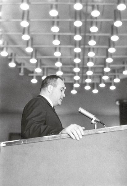 60. léta byla plná schůzí a projevů FOTO Oldřich Škácha