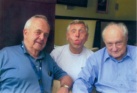 S Jiřím Menzelem a Jiřím Krejčíkem FOTO archiv AJL