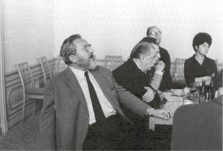 Jan Werich a Jiří Trnka FOTO Oldřich Škácha