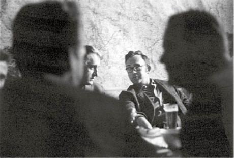 Evald Schorm a Josef Škvorecký