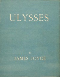 Obálka prvního vydání Joyceova románu Odysseus (nakl. Sylvia Beach, 1922). Repro archiv