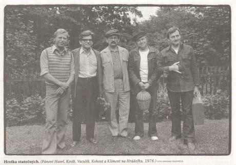 Na Hrádečku v roce 1975. FOTO BOHDAN HOLOMÍČEK