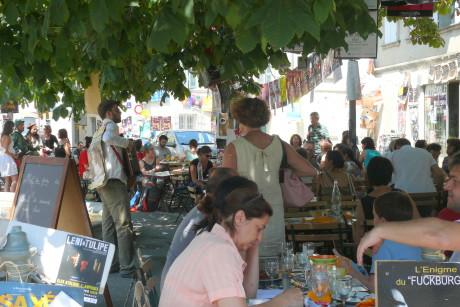V Avignonu je plno... FOTO AUTORKA