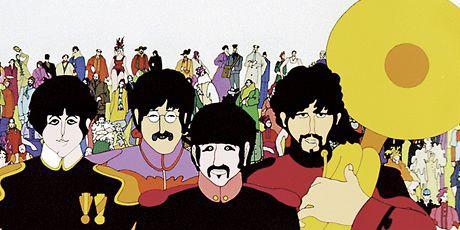 Žlutá ponorka, Beatles, jako symbol doby. Repro archiv