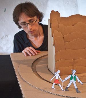 Svůj Pokojíček tu denně pro diváky otevírá loutkářka a výtvarnice Hana Voříšková. FOTO archiv
