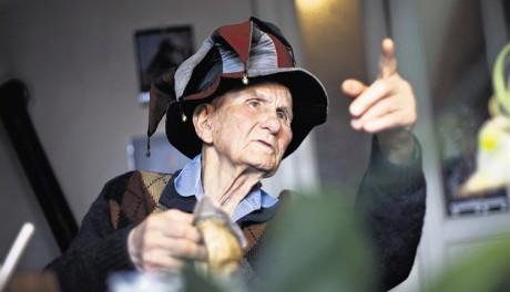 V roce 2012, na soalvě svých 90 let. FOTO JIŘÍ SALIK SLÁMA