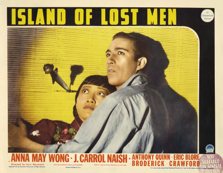 Island of Lost Men. Repro archiv