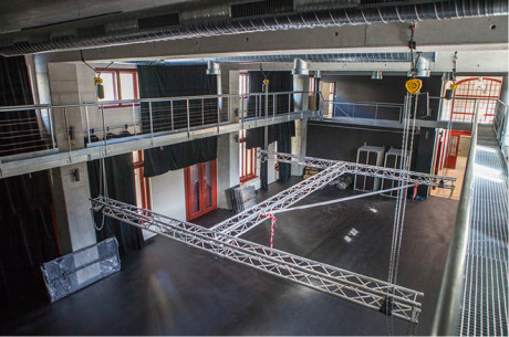 Black box – obdoba malého sálu Divadla Archa v Praze FOTO VÍT ŠTAIF