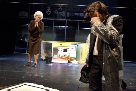 S Miloslavem Königem v Křišťálové noci Františka Hrubína (r. Štěpán Pácl, Švandovo divadlo, prem. 21. května 2011). FOTO archiv