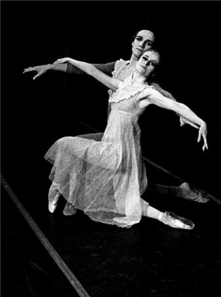 Zpěvy noci - Miroslav Hajn, Anetta Voleská (ND, prem. 22. 6.1982) FOTO JAROMÍR SVOBODA