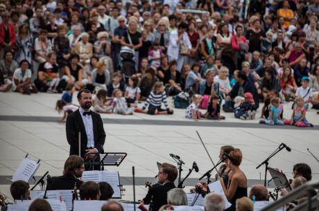 Šéfdirigent Marko Ivanović FOTO VÍT VANĚK