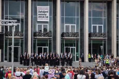 Sbor Janáčkovy opery. FOTO VÍT VANĚK