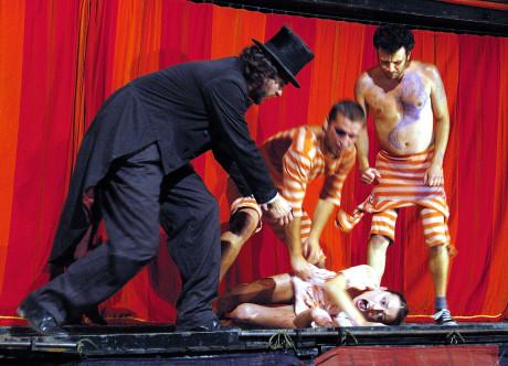 Teatro Tatro's Master and Margarita. FOTO archiv