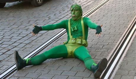 Zelený  muž