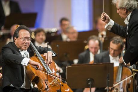 Yo-Yo Ma se skladbou vysloveně baví. FOTO DVOŘÁKOVA PRAHA