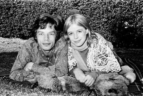 S Mickem Jaggerem, 1968. FOTO archiv