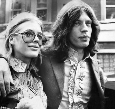S Mickem Jaggerem, 1969. FOTO archiv