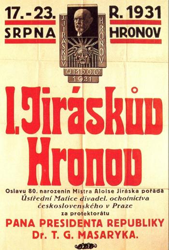 Hronov_jiraskuv_hronov_1931-poster