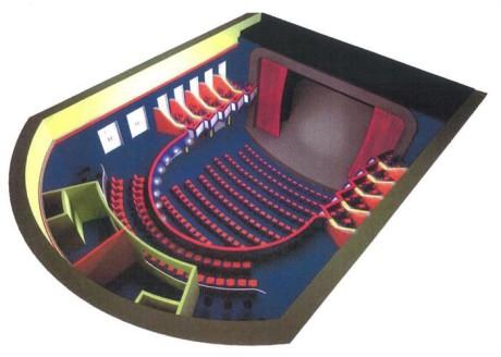 Zásadní proměnou projde jeviště i hlediště. Divadlo by mělo splňovat dnešní standardy v nárocích na komfort jak pro diváky, tak herce. FOTO archiv
