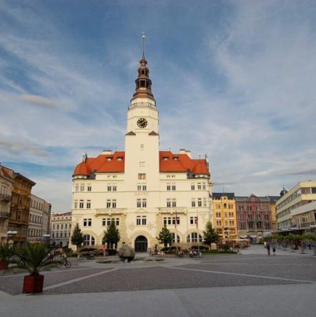 Magistrát města Opava, Horní náměstí 382/69, Opava. FOTO archiv