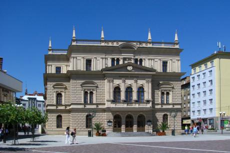 Slezské divadlo Opava, příspěvková organizace, Horní náměstí 13, 746 69 Opava. FOTO archiv