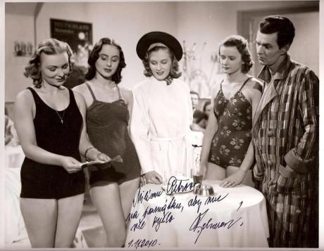 Ve filmu Muži nestárnou (druhá zprava). FOTO archiv autora