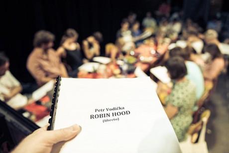 1. čtená... FOTO archiv Divadla Minor