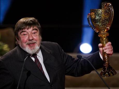 V roce 2014 obdržel Cenu Thálie za celoživotní mistrovství v oboru loutkové divadlo. FOTO MARTIN DIVÍŠEK