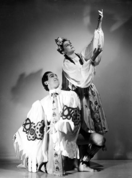 I. V. Psota a M. Figarová ve Slovanských tancích (1938). FOTO archiv NDB
