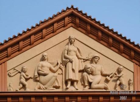 Portál Branického divadla. FOTO archiv