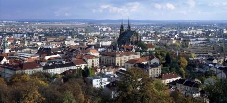 Brno panoramaticky. FOTO archiv
