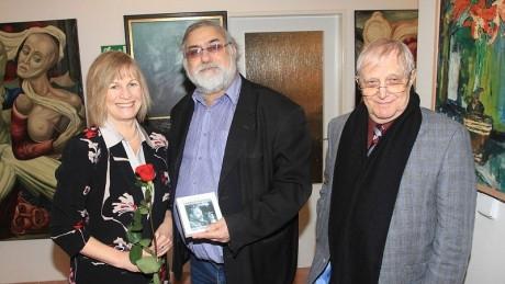 S Jitkou Molavcovou a Jiřím Suchým. FOTO archiv
