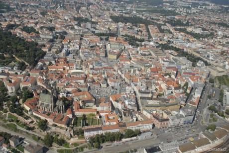 Brno letecky. FOTO archiv