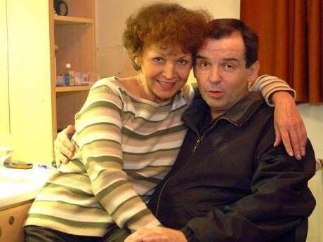 Se svým mužem Erikem Pardusem, který zemřel před čtyřmi lety. FOTO archiv MDM