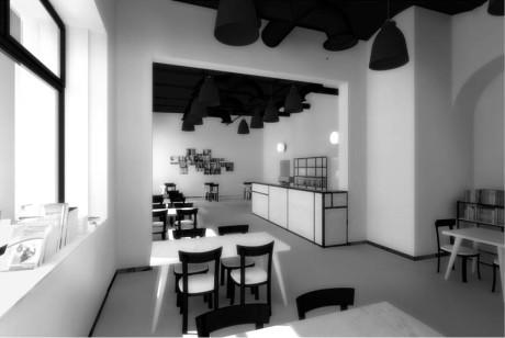 Rekonstruovaná kavárna