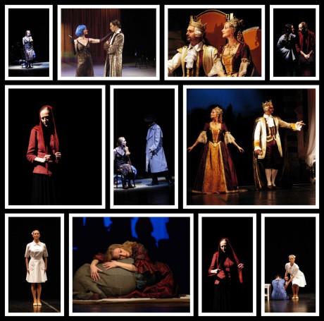 Tablo rolí Jeleny kinkeris v Severočeském divadle. FOTO archiv SDOB