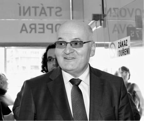 Ministr Daniel Herman  přišel na Den otevřených dveří  do Státní opery  FOTO HANA SMEJKALOVÁ