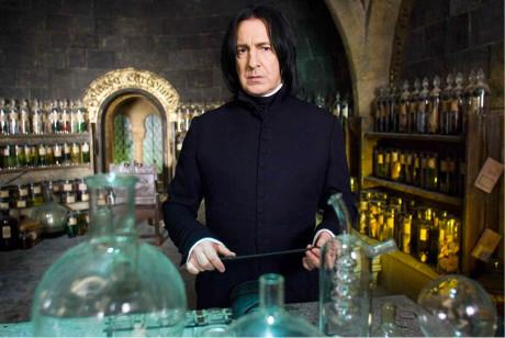 Severus Snape – postava, s níž je a bude Alan Rickman nejvíce spojován (Harry Potter a Fénixův řád, režie David Yates, 2007)  FOTO ARCHIV