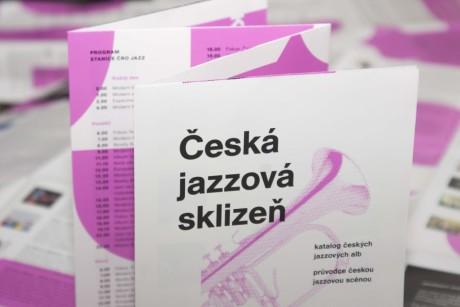 Česká jazzová sklizeň 2015 - repro tištěného vydání. FOTP PETR VIDOMUS
