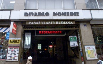 Divadlo Komedie. FOTO archiv