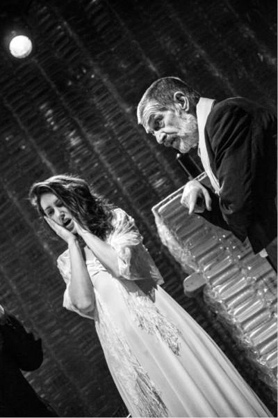 Marie Švestková a Jaroslav Achab Haidler v matematické operetě  FOTO MICHAEL TOMEŠ