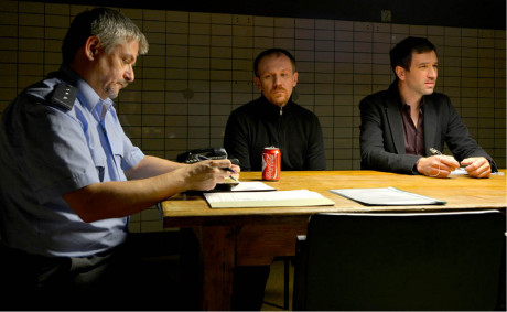 S Michalem Suchánkem a Ondřejem Sokolem ve filmu Krásno (2014)  FOTO ARCHIV KRÁSNO