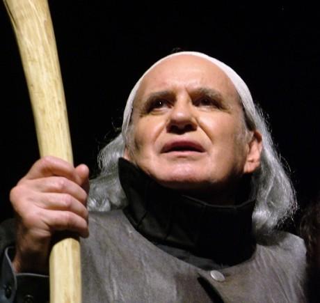 V roli Prospera v Shakespearově Bouři. FOTO archiv MD Most